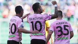 Palermo celebrating Serie B