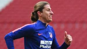 Filipe Luis treino Atlético de Madrid 22 03 2019