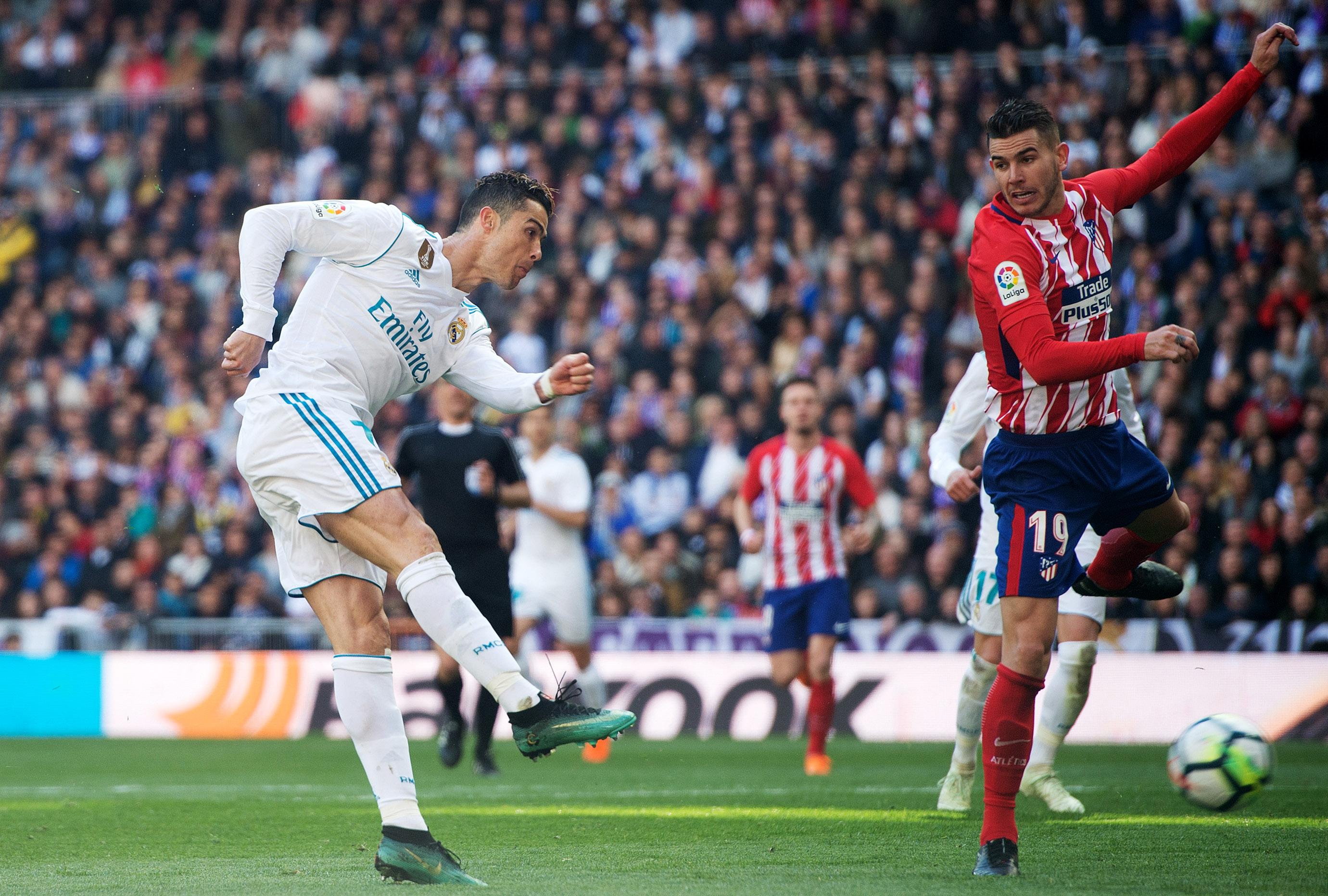 Cristiano Ronaldo vs Atletico Madrid