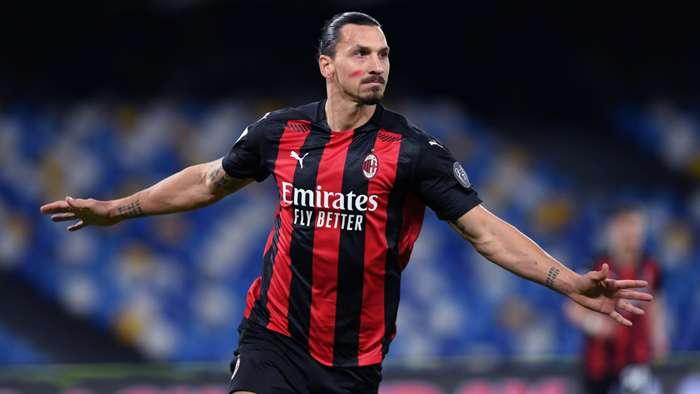 Zlatan Ibrahimovic - Napoli Milan - Serie A 2020/21
