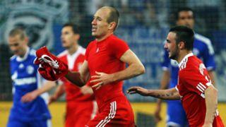 Arjen Robben Bayern Schalke 2010