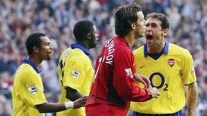 Ruud van Nistelrooy Martin Keown Manchester United Arsenal