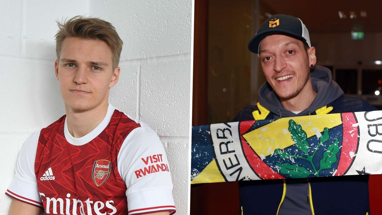 Martin Odegaard Arsenal Mesut Ozil Fenerbahce transfers