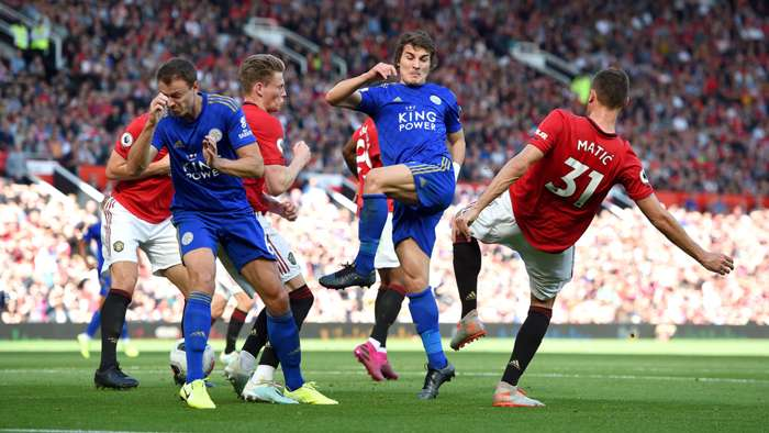 Caglar Soyuncu Leicester City Manchester United 09142019