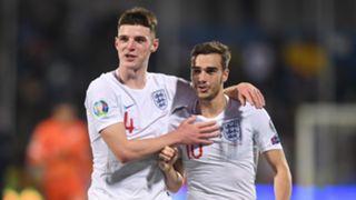 Declan Rice/Harry Winks England 2019