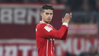 James Rodriguez FC Bayern 10022018
