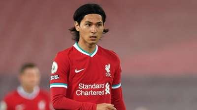 Takumi Minamino Liverpool 2020-09-28