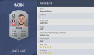 Maxim FIFA 19