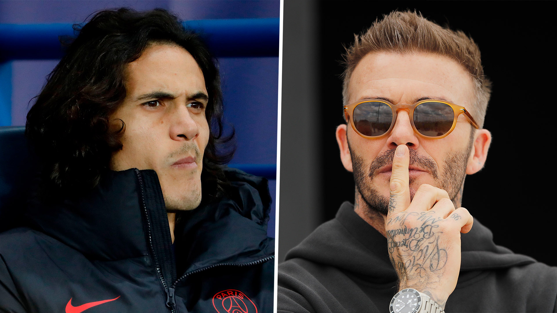 Beckham reveals Inter Miami likely to wait until the summer to sign big-name players amid Cavani links