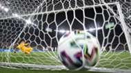 Futebol Bola na rede goleira 2021