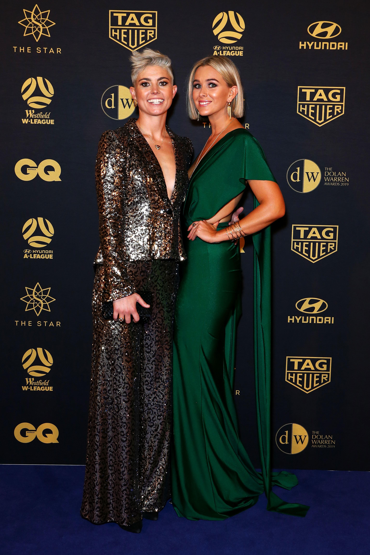 Christine Aldridge and Michelle Heyman