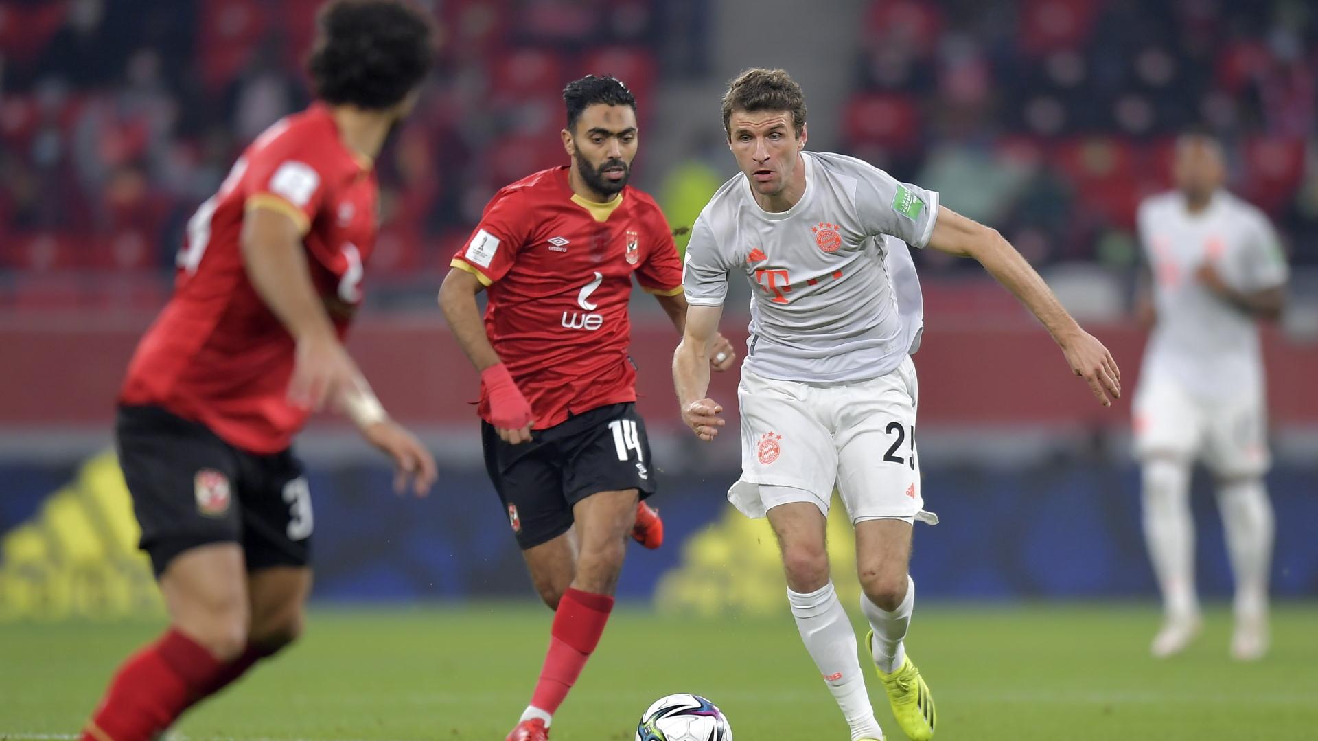 Al Ahly 0 - 2 Bayern Munich: Lewandowski brace dashes Mosimane's Fifa Club World Cup dreams