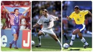GER ONLY Suker Zidane Rivaldo