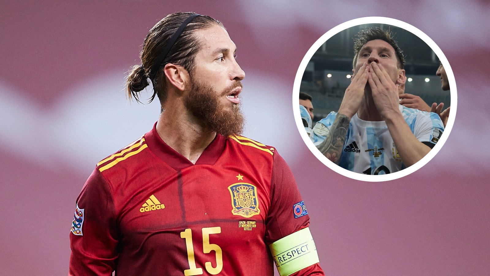 'Messi will always have a role in my team' - Ramos a big fan of Barcelona star despite ties to Real Madrid