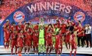 Bayern Super Cup celebration