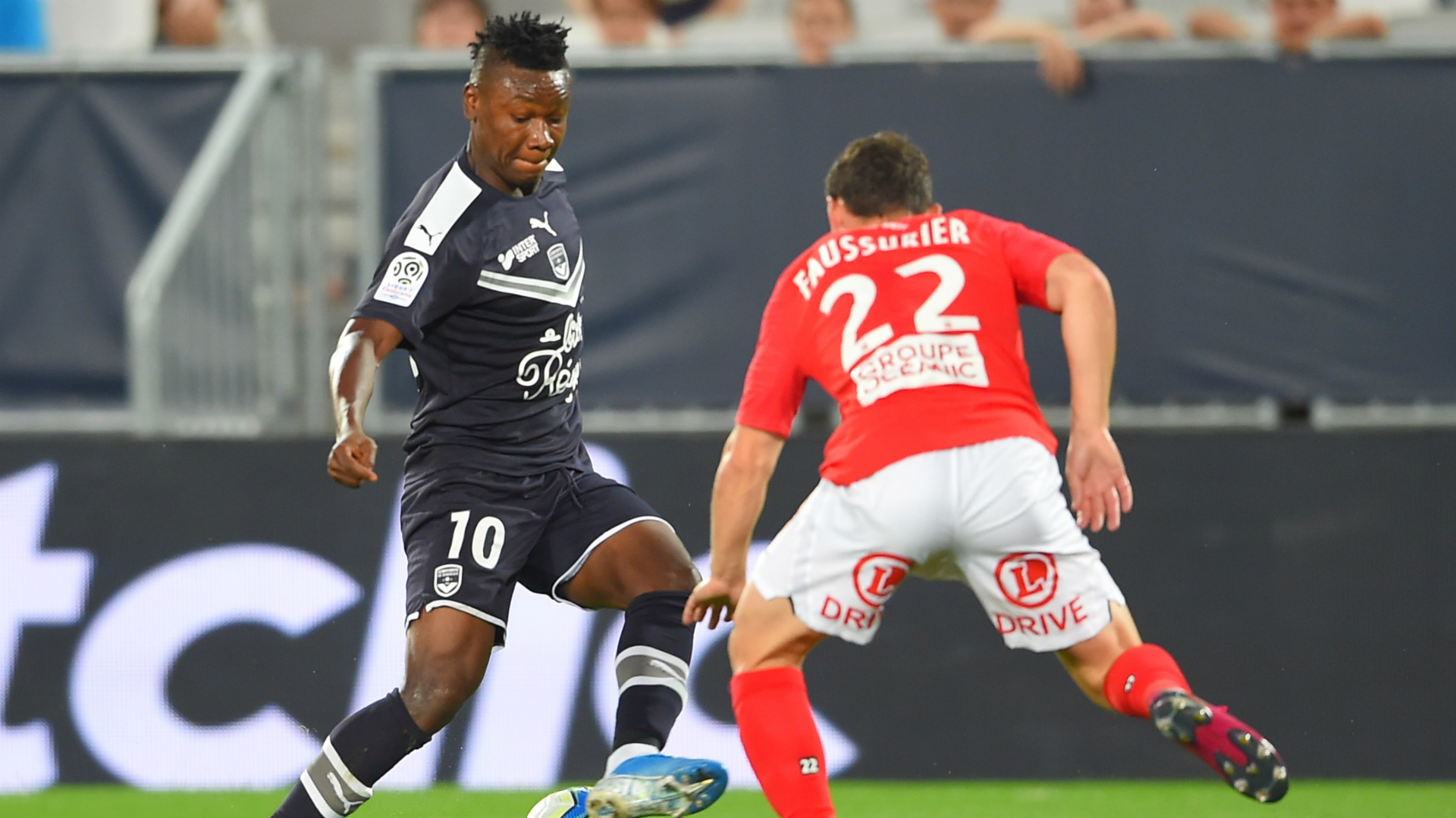 Kalu and Toko Ekambi score as Lyon edge past Bordeaux