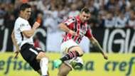 Balbuena e Pratto - Corinthians x São Paulo - 23/04/2017