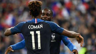 Kingsley Coman Jonathan Ikone France Andorra UEFA Euro Qualifiers 2020