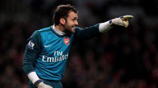 Manuel Almunia Arsenal 2009-2010