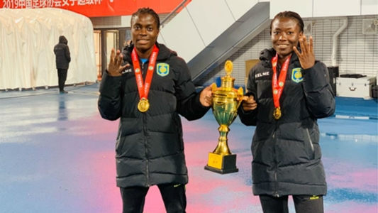 Addo and Chawinga win quadruple as Jiangsu Suning lift Chinese Women's Super Cup title