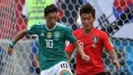 Mesut Ozil Jang Hyun.soo Germany South Korea Alemania Corea del Sur 27062018