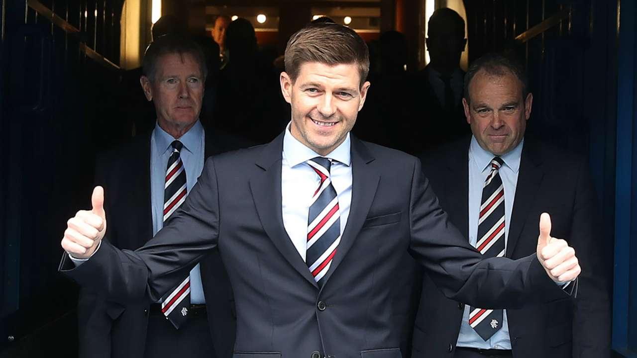 Steven Gerrard Rangers