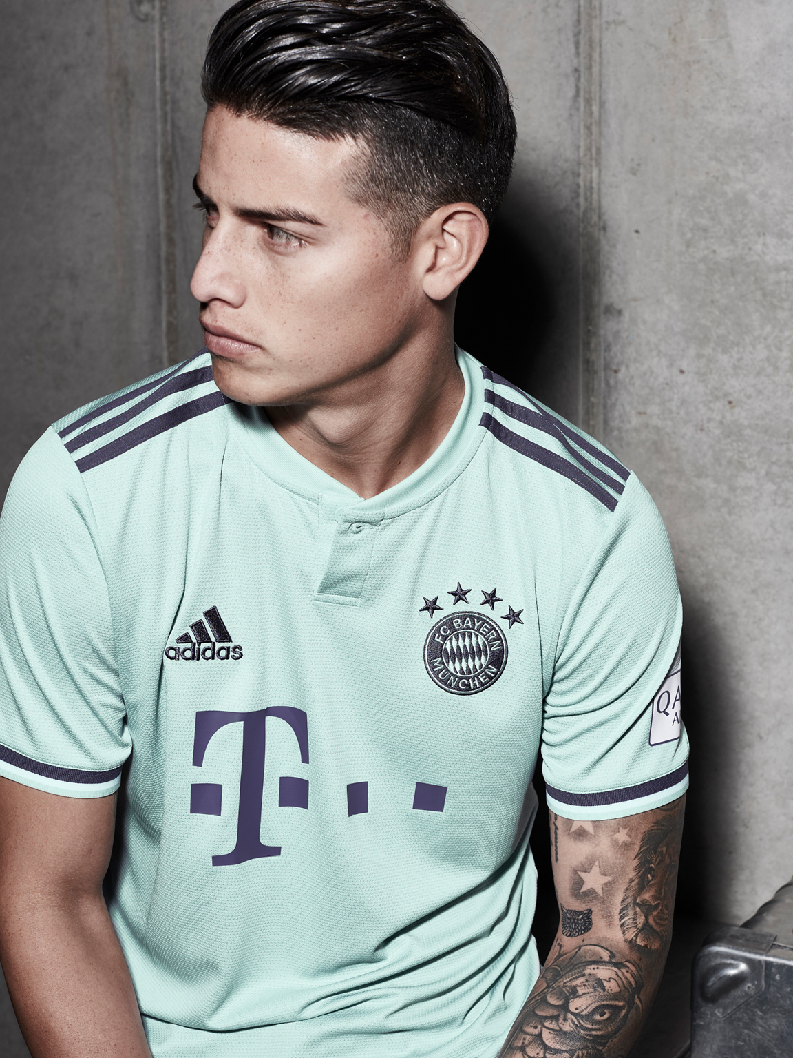 adidas launches the FC Bayern Munich third Kit for the 2019