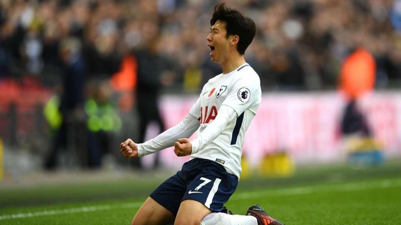 Heung-min Son Tottenham 051117