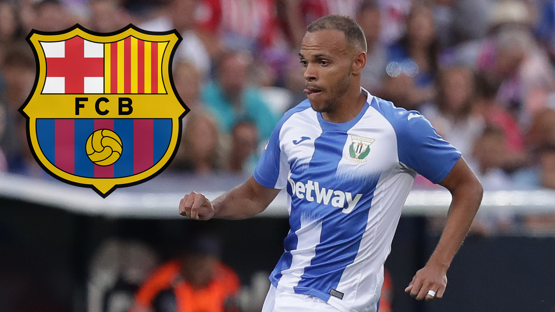 Barcelona sign Braithwaite outside transfer window