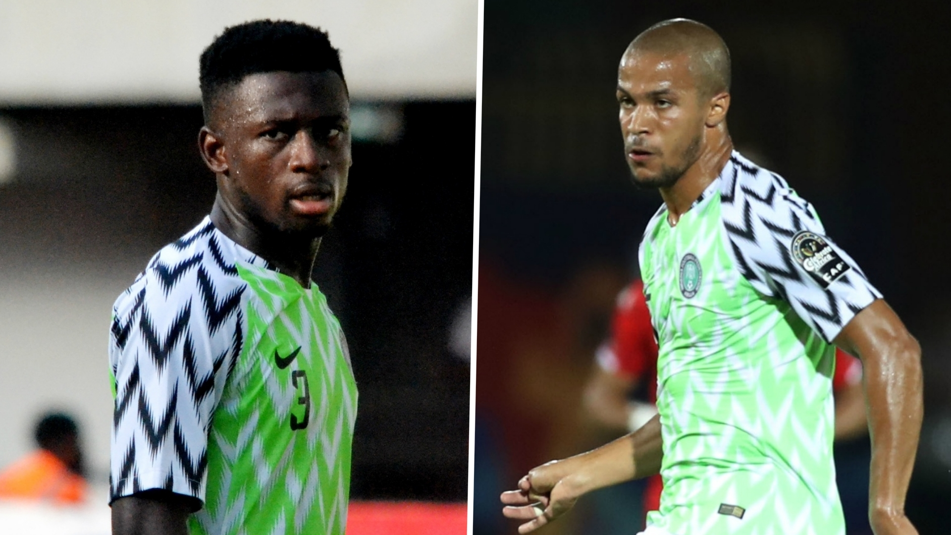 Troost-Ekong and Collins ruled out of Nigeria clash with Cameroon