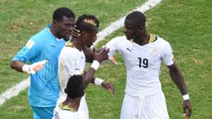 John Boye and Jonathan Mensah of Ghana