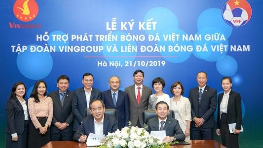 Vingroup và VFF ký thỏa thuận hợp tác chiến lược hỗ trợ phát triển bóng đá Việt Nam | Goal.com
