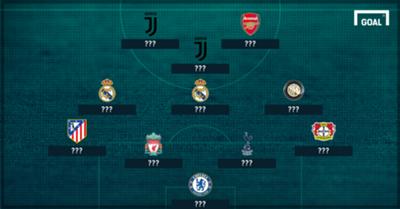 Dinamo Zagreb stars XI