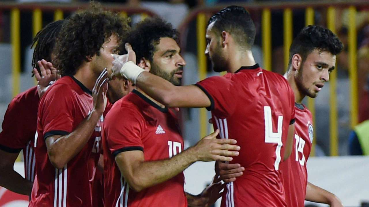 Mohamed Salah Egypt Niger AFCON qualifying 2018