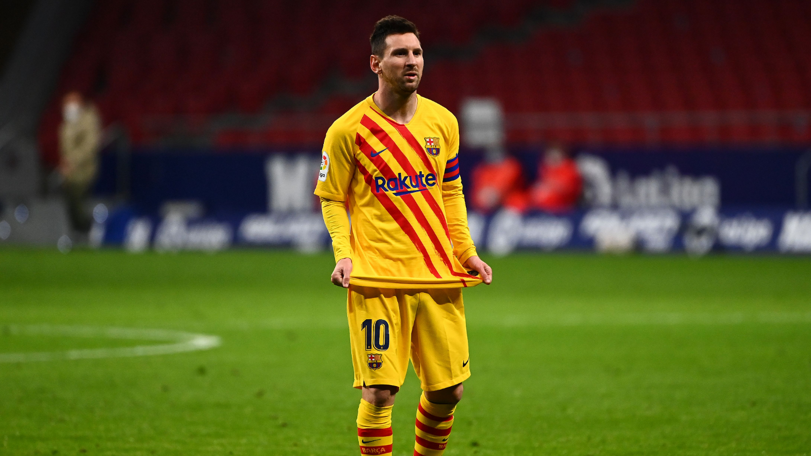 Messi absent du groupe du Barça — LdC