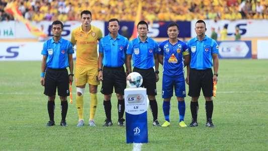 (V.League) Quảng Nam chấp nhận xuống hạng nếu giải đấu bị hủy | Goal.com