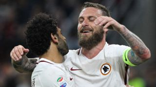 Mohamed Salah Daniele De Rossi Roma