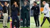 Xavi, Pochettino, Valverde, Gallardo y Koeman