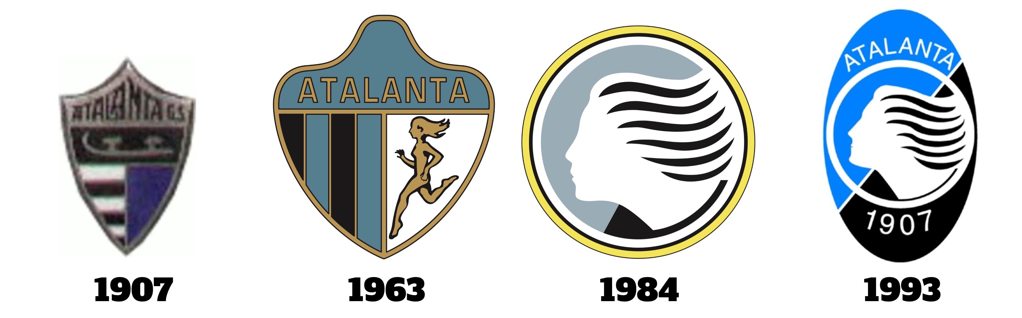 Atalanta all logos