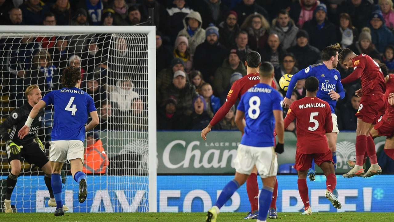 Firmino's goal Leicester Liverpool