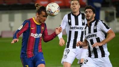 Griezmann Barcelona Levante La Liga 131220
