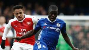 HD N'Golo Kante Chelsea Alexis Sanchez Arsenal