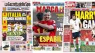 1 April newspapers