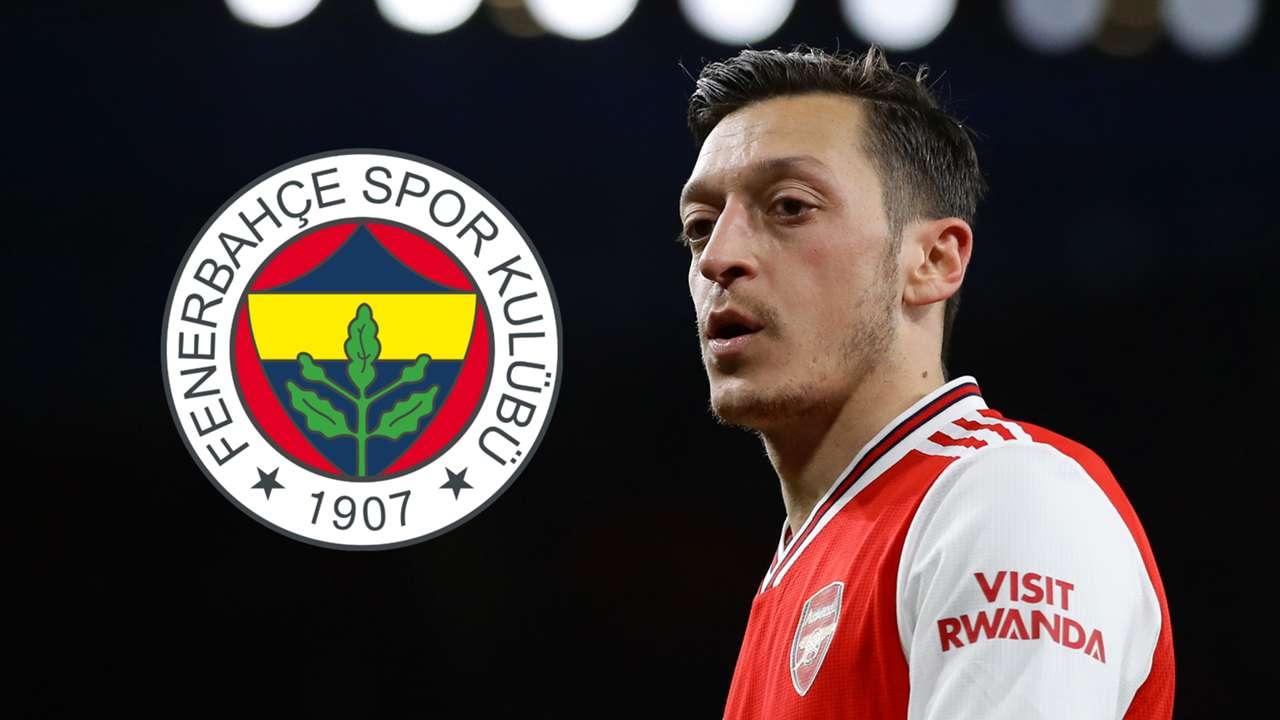 Mesut Ozil, Arsenal, Fenerbahce badge