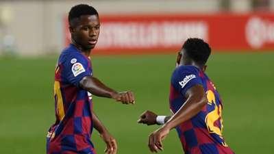 Ansu Fati Barcelona Leganes La Liga 2019-20