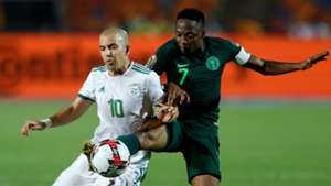 Ahmed Musa, Sofian Feghouli - Algeria vs Nigeria