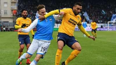 Manuel Lazzari Fares SPAL Verona Serie A