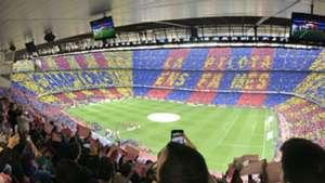 Mosaico Camp Nou Barcelona - Real Madrid