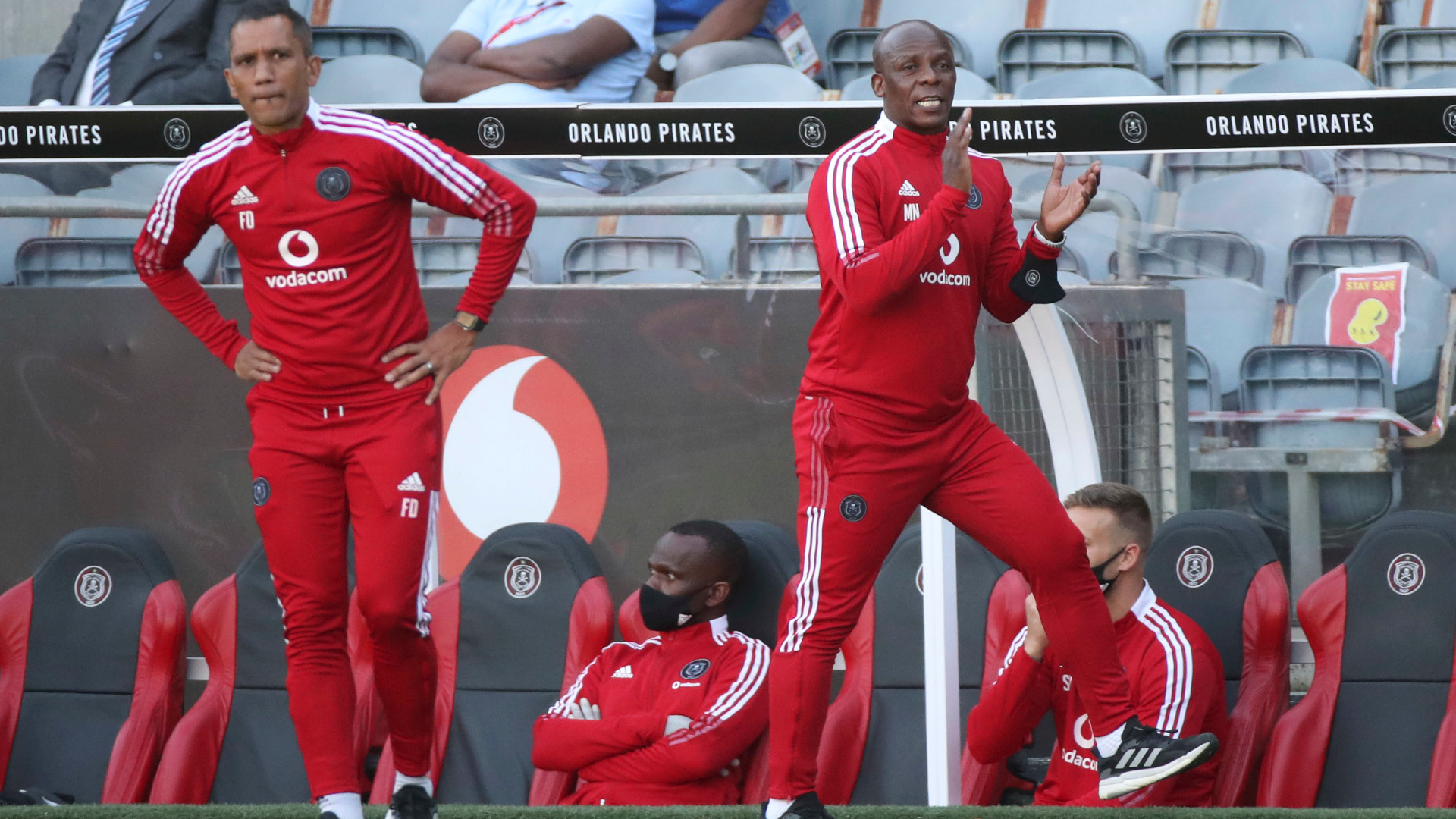 'We were not playing for the coaches' – Ex-Orlando Pirates star Lekgwathi