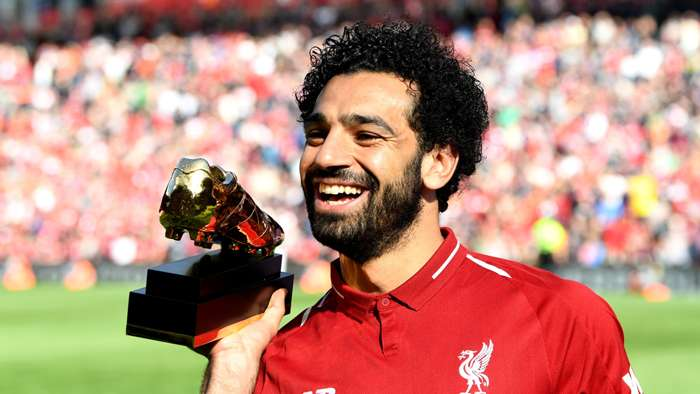 Mohamed Salah Liverpool golden boot Premier League